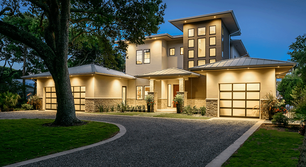 Residential projects mark macco for Modern transitional